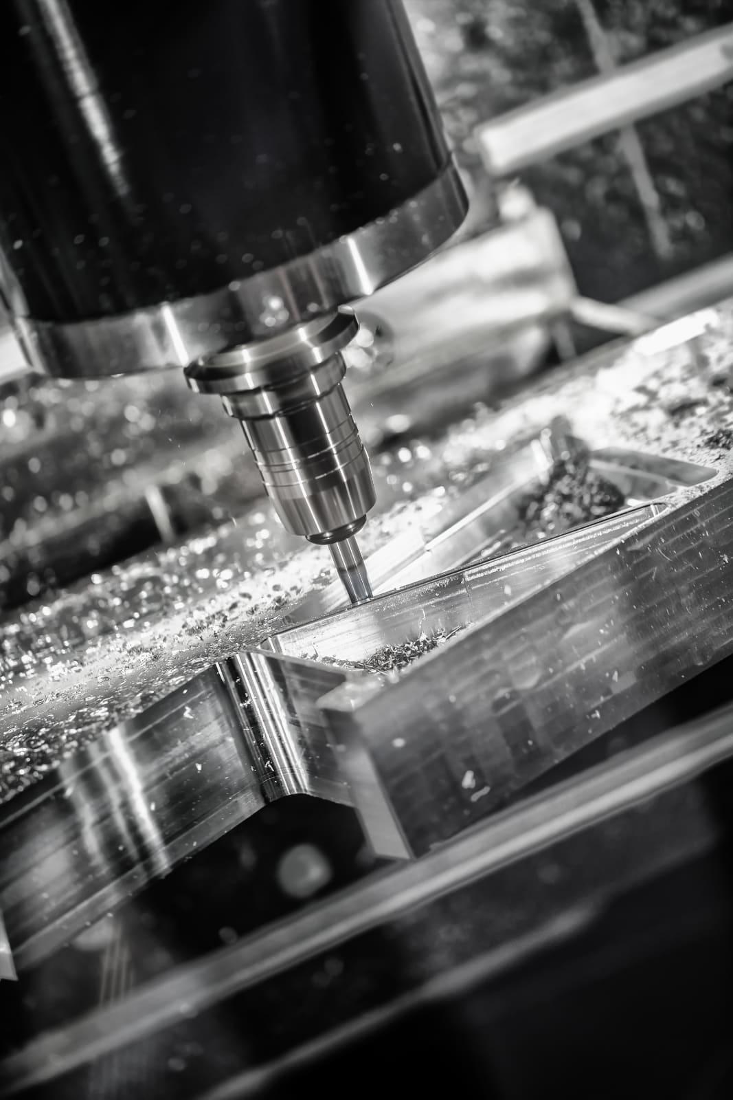 CNC obróbka metalu